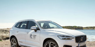 Volvo XC60 made from recycled plastics