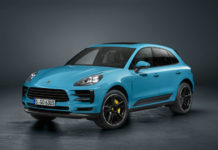 Updated Porsche Macan front three quarters