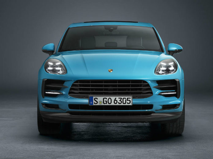 Updated Porsche Macan front view