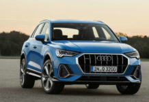 Audi Q3 front three quarters