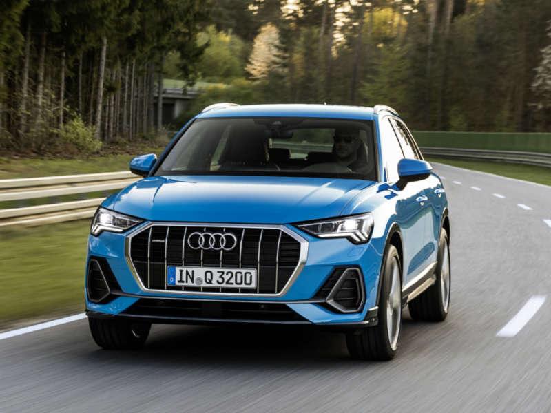 Audi Q3 moving shot