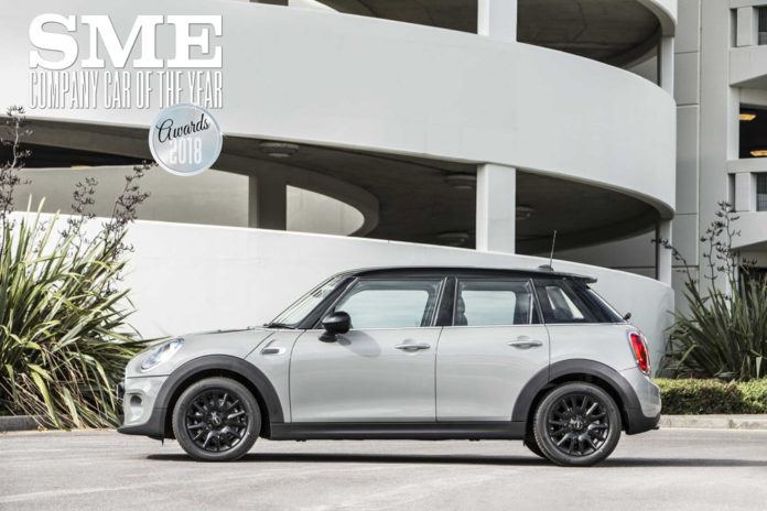 Why MINI's a winner as best compact company car