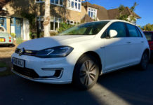 Volkswagen e-Golf for silent motoring