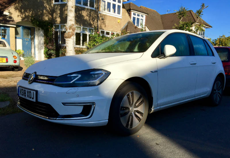 Going Electric Vw E Golf Long Term Review 1 Business Motoring