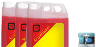 vGroup Internationals screen wash tablets replacing the liquid in plastic bottles