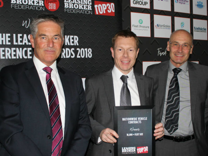 Nationwide Vehicle Contracts names winner of the LBF Top30