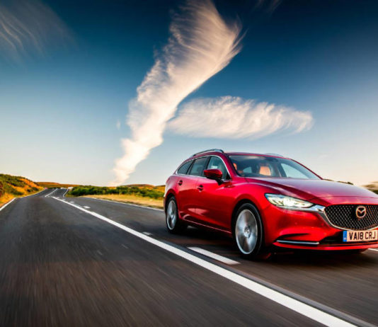 Driving picture of Mazda6