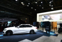 New BMW 3 Series unveil in Paris
