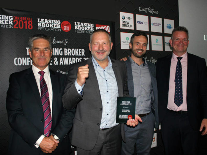 synergy celebrate Leasing Broker of the Year
