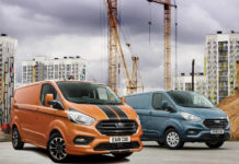Ford Transit Custom led October 2018 van registrations