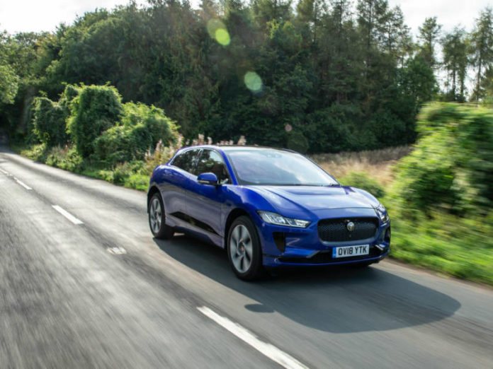 Jaguar I-PACE - electric vehicles raced ahead in October