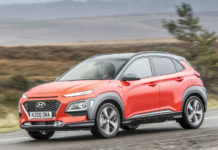 HYUNDAI KONA 16 TGDI PREMIUM GT 177 PS 4WD DCT review header shot