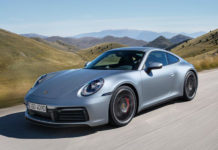 The new Porsche 911 Type 992