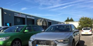 Audi A6 40 TDI front view 1 1