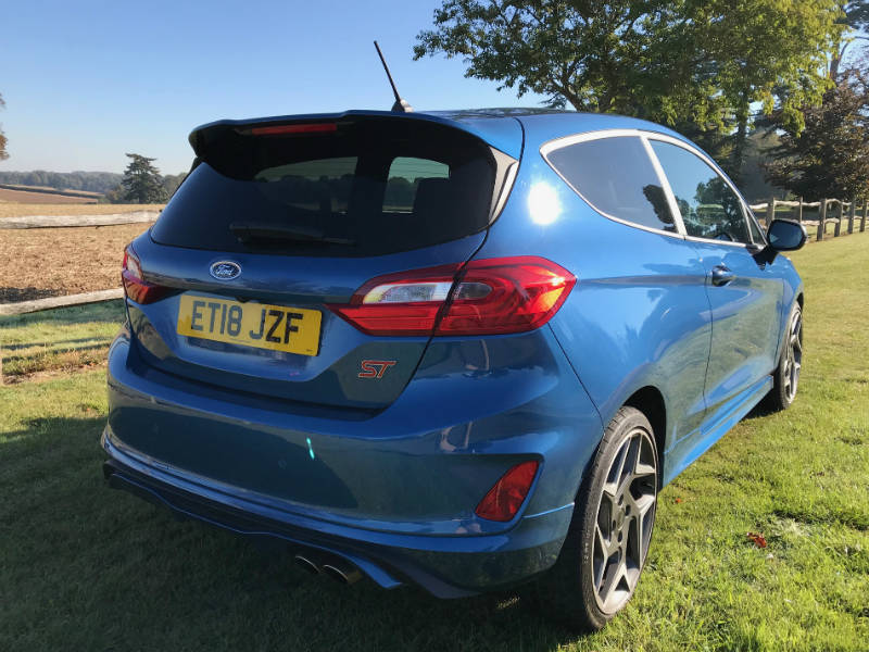 Ford Fiesta ST rear shot