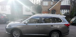 Mitsubishi Outlander side profile