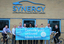 Synergy ramps up targets in 2019 bike donation station campaign