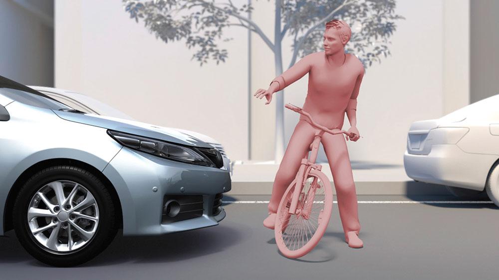 2019 toyota corolla cyclist protection