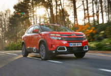 Citroen C5 Aircross moving